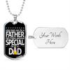 Father Gifts Any Man Can Be a Father But It Takes Someone Special to be a Dad