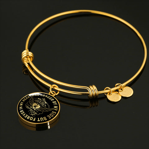 In Loving Memory Dog Luxury Bracelet Gift Pet Memorial Keepsake Bangle
