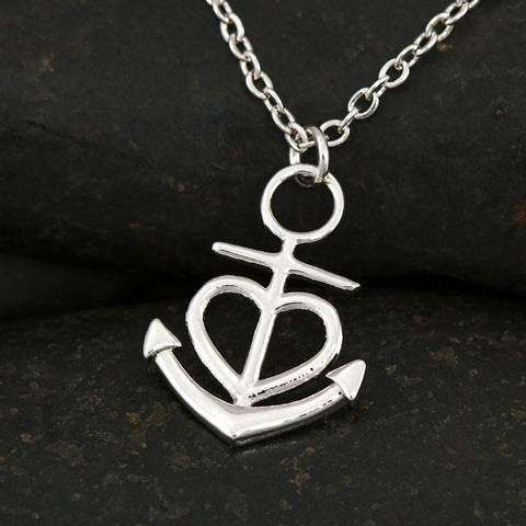 Best Friend My Anchor Luxury Pendant Gift I'll Be The Wings Necklace