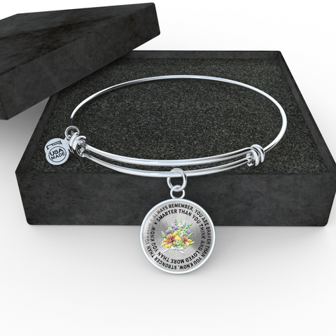 "Image of Gift for Daughter or Grandchild, ""Always Remember You Are Braver Than You Know..."