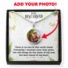 Best Friends Custom Photo Necklace Gift