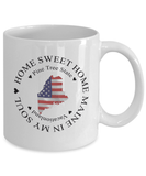 Maine Gift, Home Sweet Home Maine In My Soul USA Gifts Coffee Mug