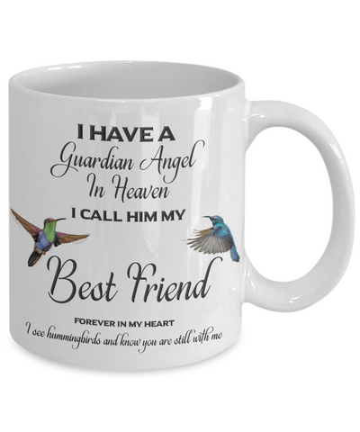 Best Friend Memorial Gift I Have a Guardian Angel... Best Friend Remembrance Gifts