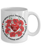 Poppy Memorial Mug My Mind Still Talks You Loving Memory Sympathy Keepsake