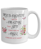 Christian Bereavement Memorial Gift My Daughter Was So Amazing...Remembrance Gift Daughter