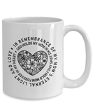Remembrance Gifts For Mom,  God Holds My Mom In His Arms And I Hold Mom... Mom Memorial Gift