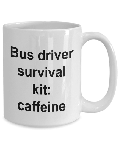 Image of Funny Bus Driver Gifts Bus Driver Survival Kit: Gifts for Women and Men Drivers