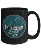 Philadelphia Football Fan's Ceramic Coffee Mug Gift