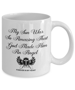 Christian Bereavement Memorial Gift My Son Was So Amazing God.. Remembrance Gift