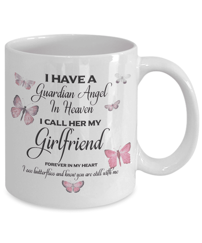 Image of Memorial Gift  Guardian Angel.. Girlfriend Memorial Gifts