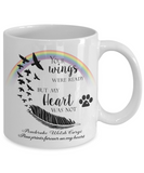 Pembroke Welsh Corgi Bereavement Memorial Gifts Your Wings Were Ready ... Remembrance Gift