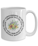 """Always Remember You Are Braver Than You Know.."" Inspirational gift"