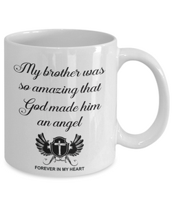 Christian Bereavement Memorial Gift My Brother Was So Amazing... Remembrance Gift Brother