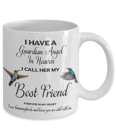 Best Friend Memorial Gift I Have a Guardian Angel ... Best Friend Remembrance Gifts