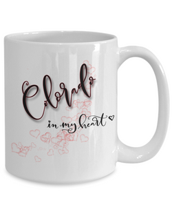State of Colorado in My Heart Mug Patriotic USA Unique Novelty Birthday Christmas Gifts Ceramic Coffee Tea Cup