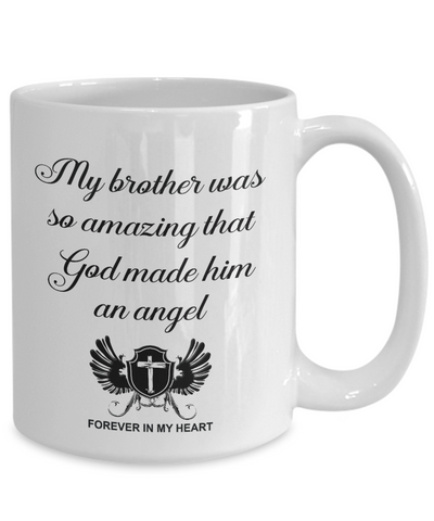 Image of Christian Bereavement Memorial Gift My Brother Was So Amazing... Remembrance Gift Brother