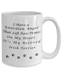 Irish Terrier Memorial Gift Guardian Angel Irish Terrier Pet Remembrance Gifts