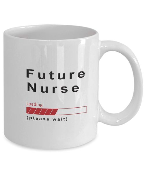 Future Nurse Coffee Mug Cup Gifts for Men and Women Training to be Nurses