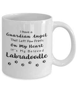 Labradoodle Memorial Gift, Guardian Angel.. Labradoodle, Pet Remembrance Gift