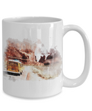 Mountains Are Calling Travel Camping Ceramic Coffee Mug Gift