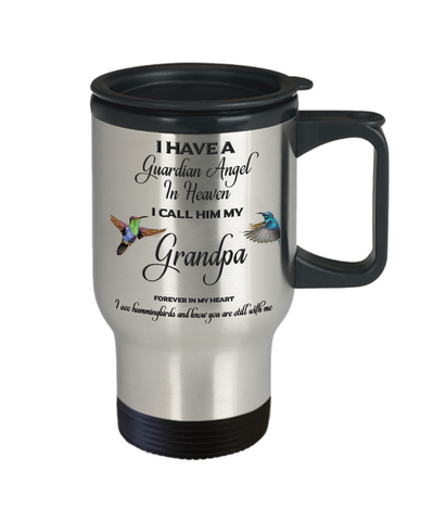 Grandfather Memorial Gift Guardian Angel Grandpa  Grandfather Remembrance Gifts