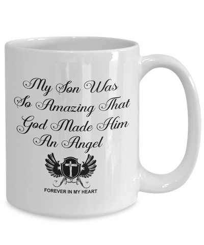 Image of Christian Bereavement Memorial Gift My Son Was So Amazing God.. Remembrance Gift
