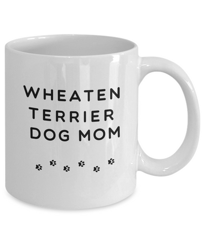 Best Wheaten Terrier Dog Mom Gift Ceramic Coffee Mug for Women