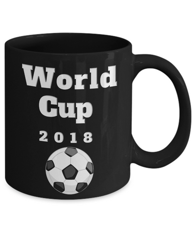Image of World Cup 2018 Soccer Coffee Travel Mug Novelty Gift Keepsake Ceramic Teacup