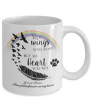 Great Dane Bereavement Memorial Gifts Your Wings Were Ready... Great Dane Remembrance Gift