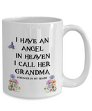 "Memorial Gift, ""I Have an Angel In Heaven, I Call Her My Grandma Remembrance  Gift"