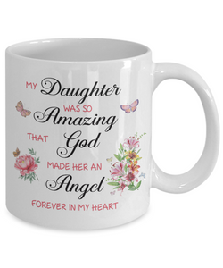 Christian Bereavement Memorial Gift My Daughter Was So Amazing..Remembrance Gift