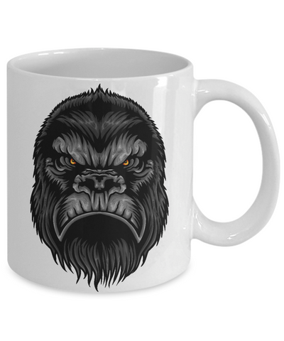 Image of Fun Gorilla, Big Foot, Sasquatch, Yeti Coffee mug  For Bigfoot Fans