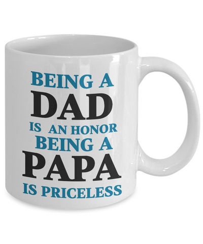 Love You Dad Mug Gift for Father's Day Papa Grandfather Birthday Coffee Cup