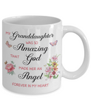 Christian Bereavement Memorial Gift My Granddaughter Was So Amazing...Remembrance Granddaughter
