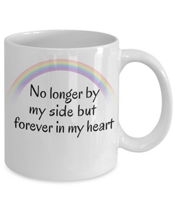 In Memory of My Dog Cat Mug No Longer By My Side Pet Bereavement Memorial Remembrance Gifts
