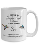 Son Memorial Gift I Have a Guardian Angel ... Remembrance Gifts