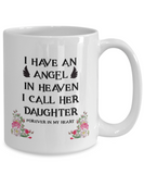 Memorial Gift for Parents, Remembrance  Gift for Bereaved Parents, Angel In Heaven  My Daughter