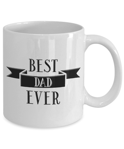 Image of Coffee Mug Gift for Dad, Best Dad Ever, Work Mug for Dad