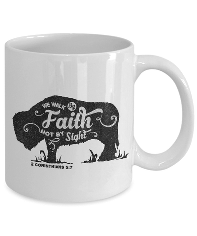 Image of Christian Faith Gifts We Walk By Faith Not By Sight 2 Corinthians 5:7