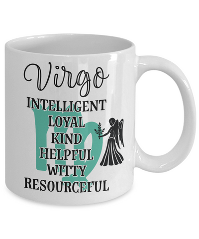 Virgo Zodiac Mug Gift Fun Novelty Birthday Coffee Cup