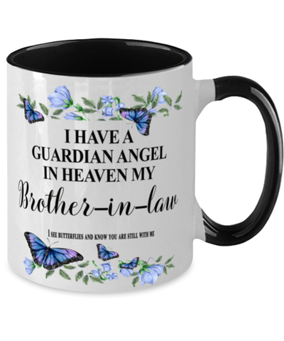 Brother-in-law Memorial Two-Toned Mug In Loving Memory Mourning Emotional Support Cup
