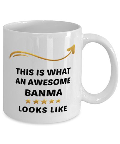 Image of Banma Mug  Awesome Person Looks Like 11 oz  Ceramic Coffee Cup