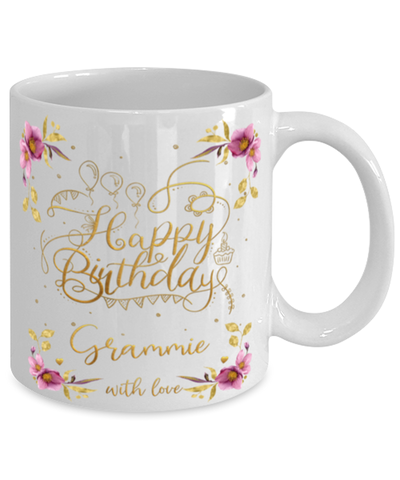 Image of Grammie Happy Birthday Mug Fun 11oz Coffee Cup