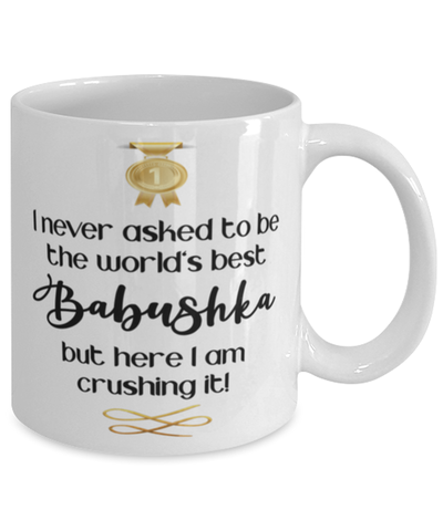 Babushka World's Best Mug Crushing it 11 oz Coffee Cup