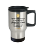 Adoptive Mom World's Best Travel Mug Crushing it 14 oz Coffee Cup