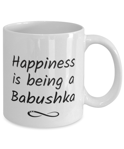 Babushka Mug Happiness is Being 11oz Coffee Cup