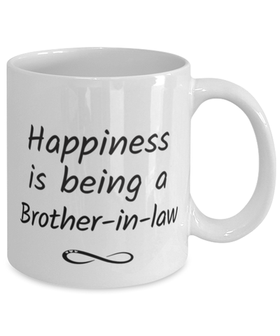 Brother-in-law Mug Happiness is Being 11oz Coffee Cup