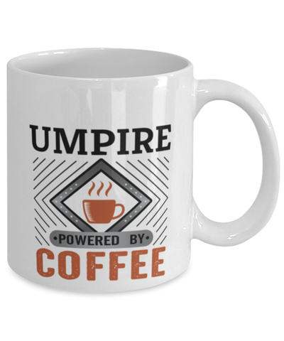 Image of Umpire Mug Powered by Coffee Occupational 11oz Ceramic Cup