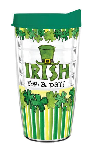 Irish for a Day Tumbler Gift 16oz