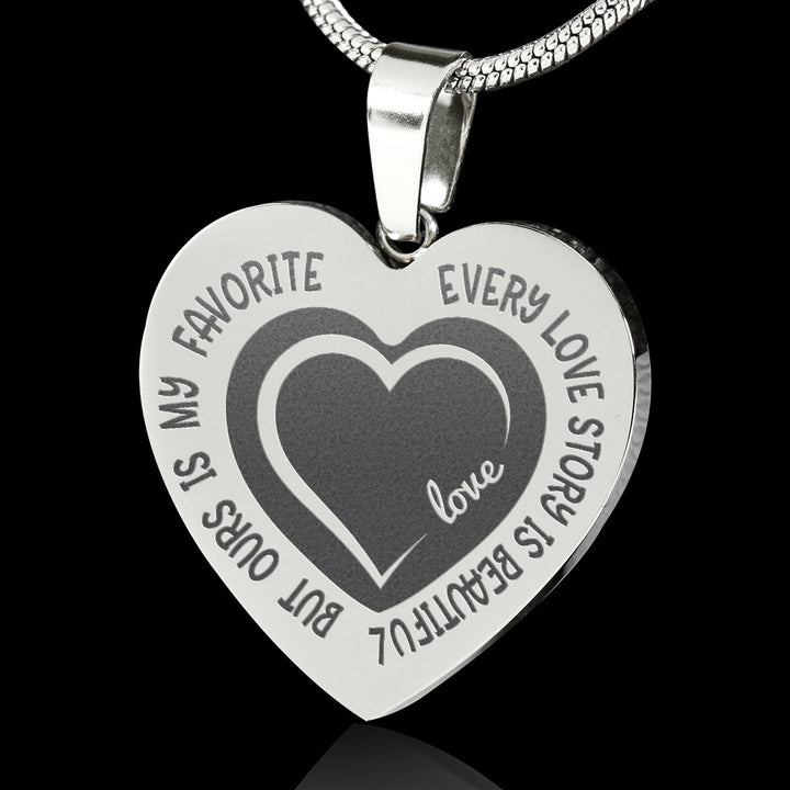 Birthday Gifts To My Gorgeous Wife Romantic Love Necklace For Valentine/'s Day
